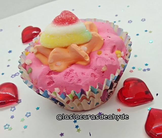 cupcake de azucar La ASturiana Caramelos