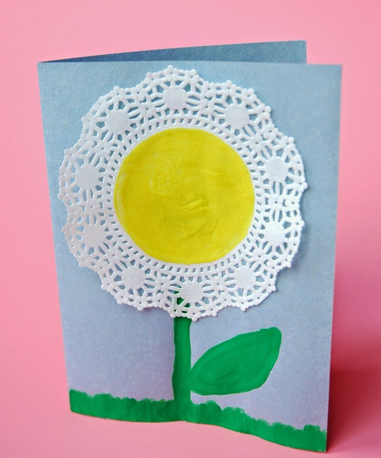 Spring Flower Craft What Can We Do With Paper And Glue