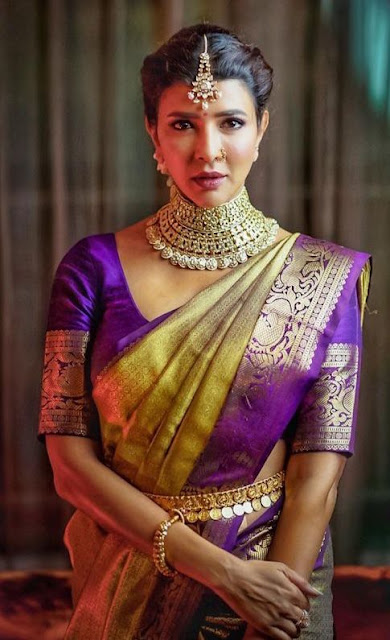 Lakshmi Manchu Antique Choker