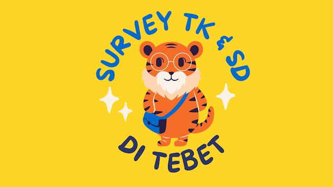 Survey TK & SD di Tebet