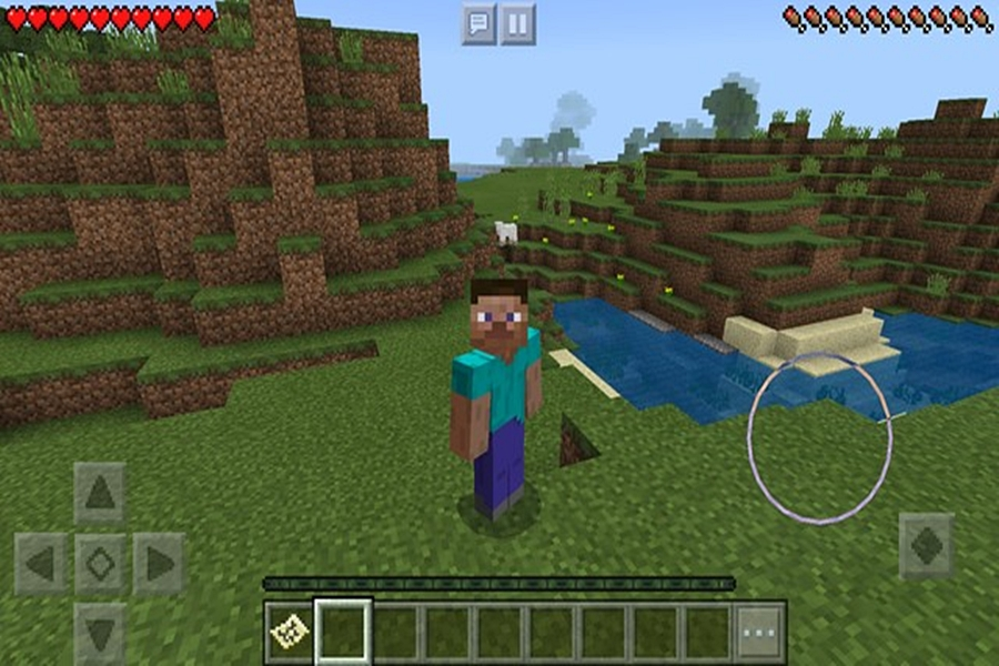 تحميل لعبة ماين كرافت Minecraft للاندرويد
