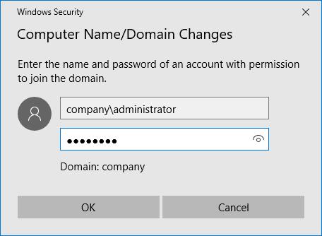 انضم إلى Windows Server 2016 إلى مجال Active Directory