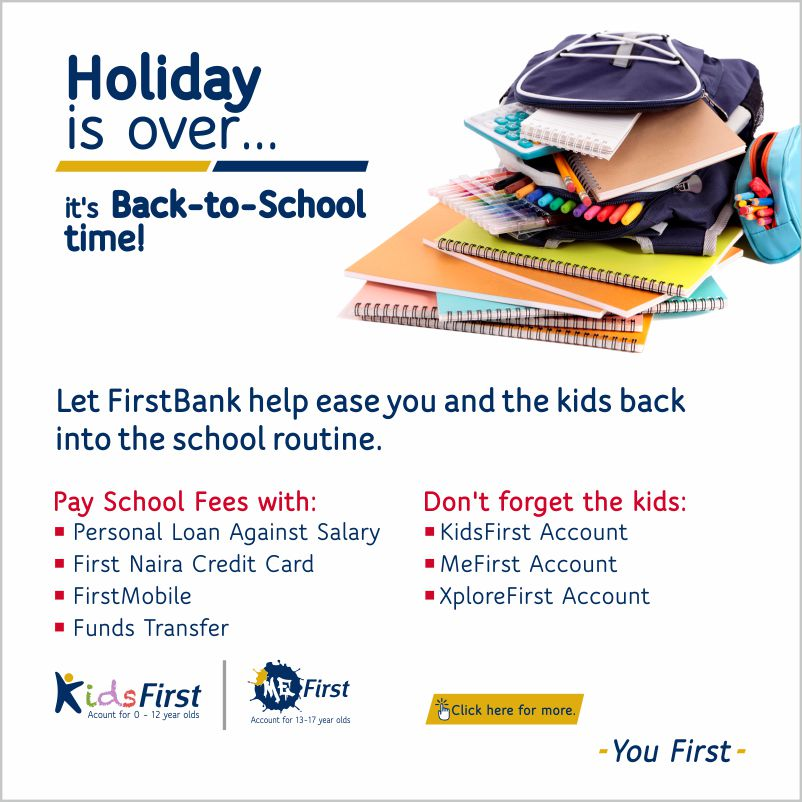 FIRSTBANK Help Back to School