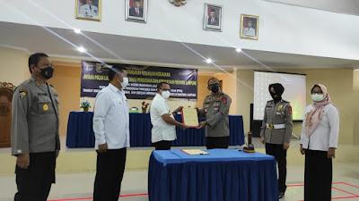 Resmi, Pendidikan Lalu Lintas Masuk pada Mata Pelajaran PPKn SMA/K Provinsi Lampung
