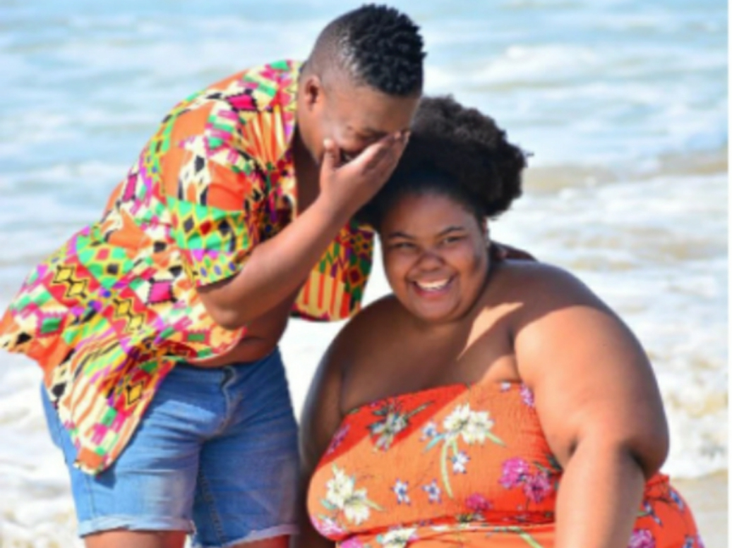 """""""Thick women will really love you."""" People react after seeing pictures of this beautiful couple"""