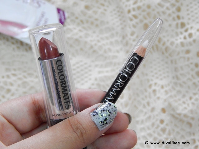 Colormates Lipstick & Lipliner Pencil Ruby Red Review