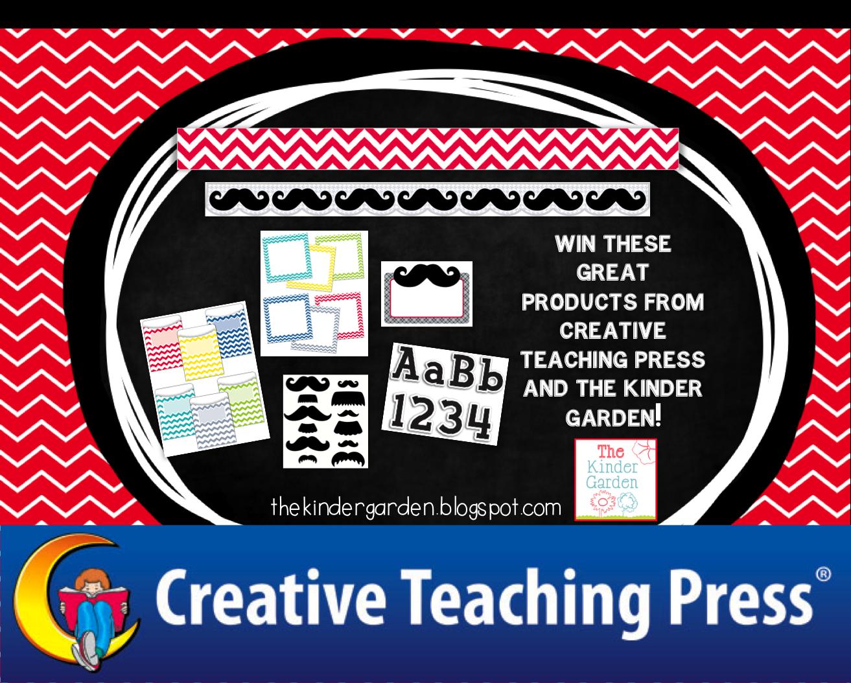 The Kinder Garden Creative Teaching Press Giveaway Winner