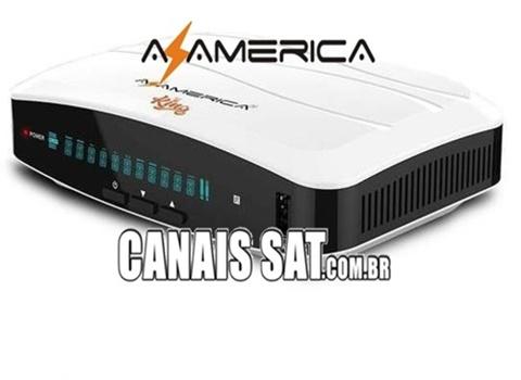 Azamerica King GX PRO Atualização V1.10 - 24/05/2021