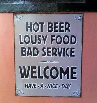 funny restaurant sign joke picture