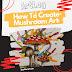 HOW TO CREATE MUSHROOM ART
