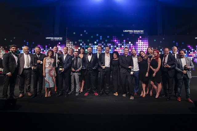 Glittering Awards ceremony brings fitting finale to Light Middle East 2018
