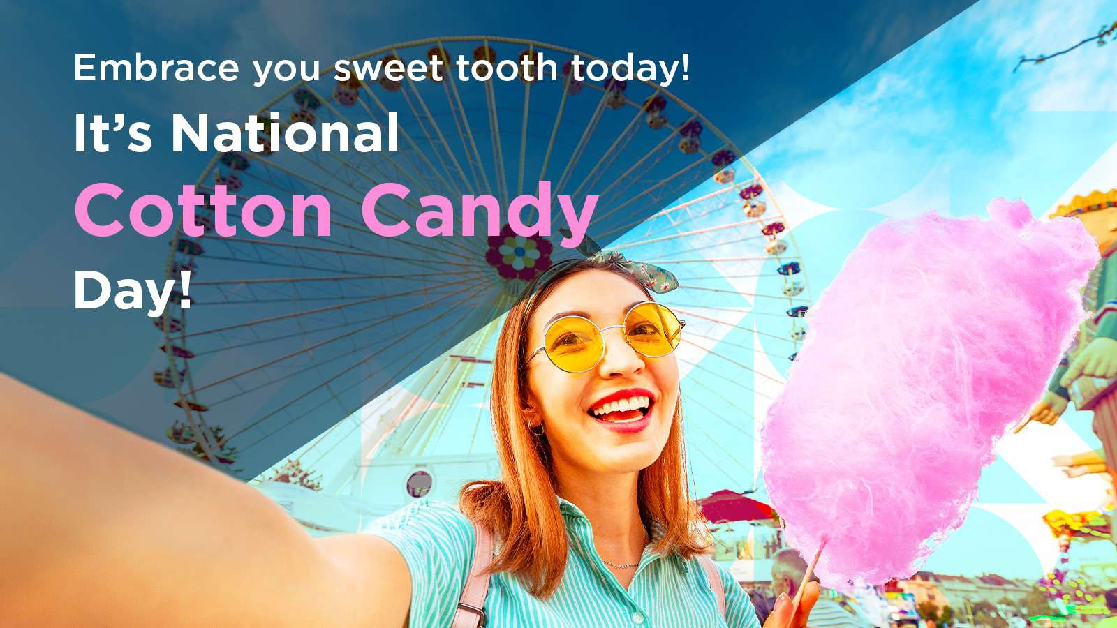 National Cotton Candy Day Wishes Pics