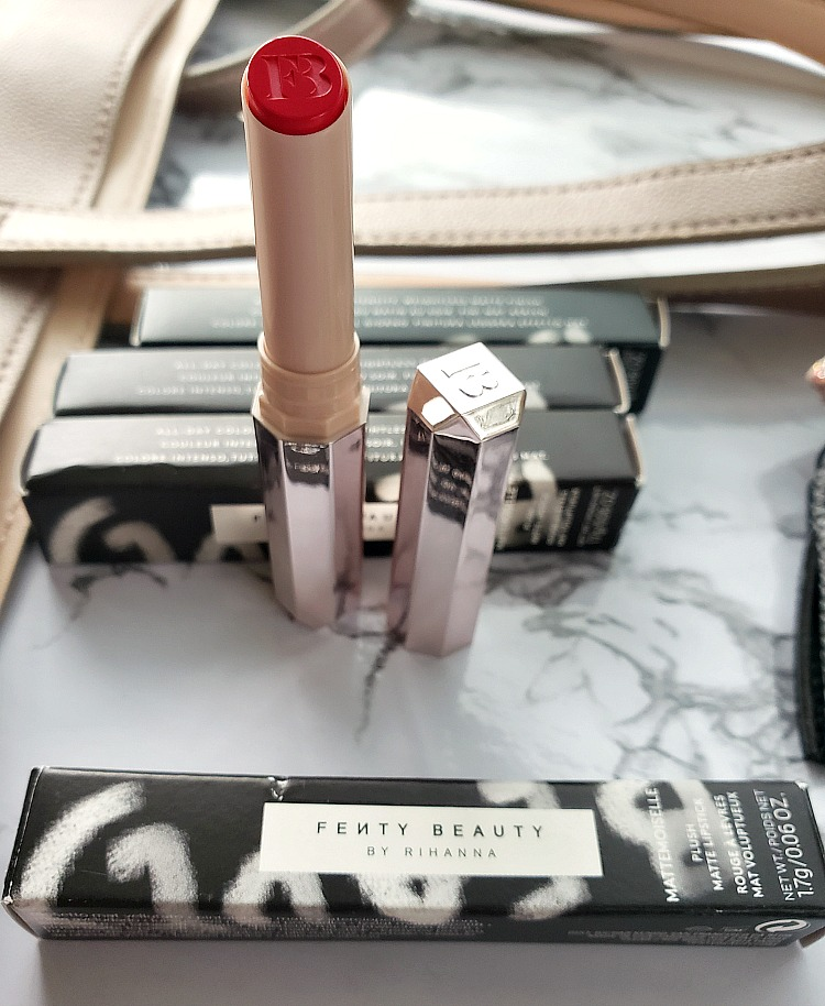pink matte lipstick