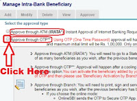 how to add beneficiary in sbi steps