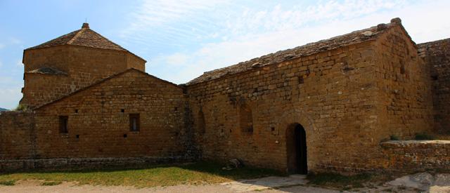 La iglesia de Santa María, del corazón primitivo del castillo de Loarre