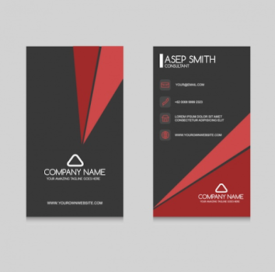 Kartu Nama - Business Card Design