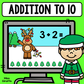 Christmas Addition to 10 game that is digital and so much fun!