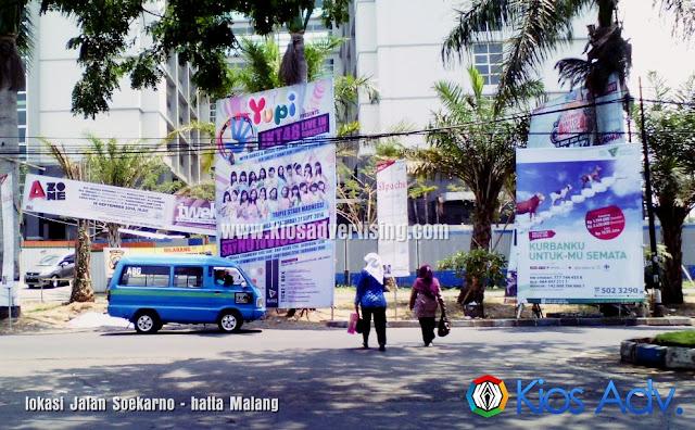Jasa Pemasangan Spanduk, Baliho, Banner Malang 085649905055