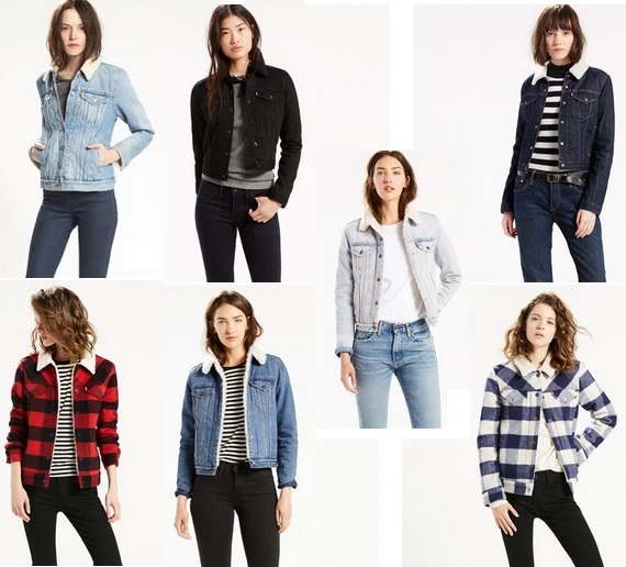 Women's Sherpa Trucker Jackets