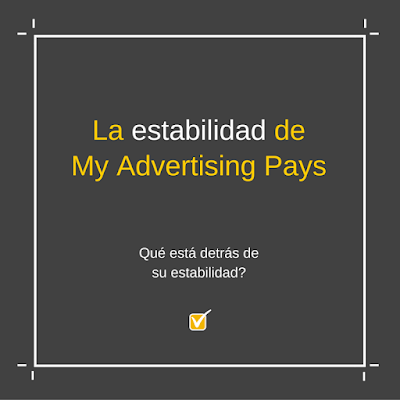 My Advertising Pays - la estabilidad de MAP en tusalarioaqui.blogspot.com.es