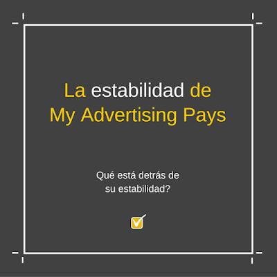 My Advertising Pays - la estabilidad de MAP en tusalarioaqui.blogspot.com.es