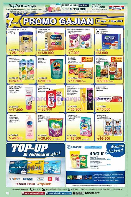 Katalog Promo Gajian Indomaret 25 November 1 Desember 2020 Barcodeharga Harga Promo Alfamart Indomaret Giant Hypermart Superindo Lottemart Carrefour
