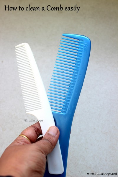 How to clean a comb easily