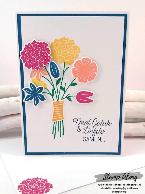 Stampin'Up! Een bouquet vol goede wensen