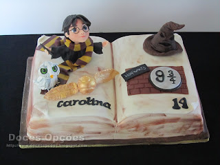 Harry Potter cake sugar paste