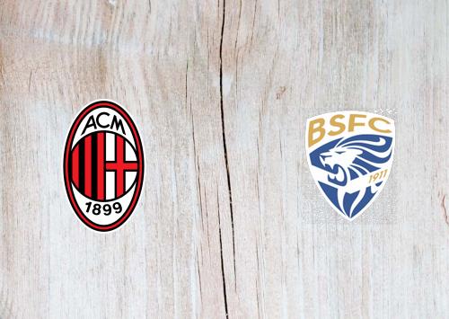 Milan vs Brescia -Highlights 31 August 2019