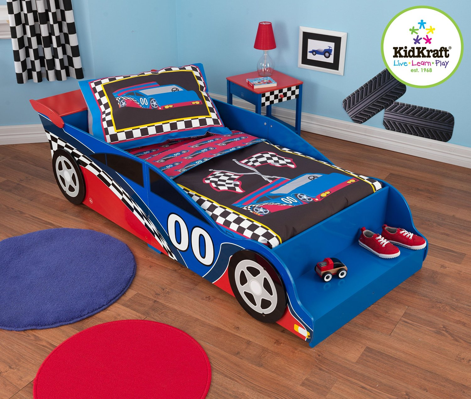 Race Car Crib Bedding: Really Race