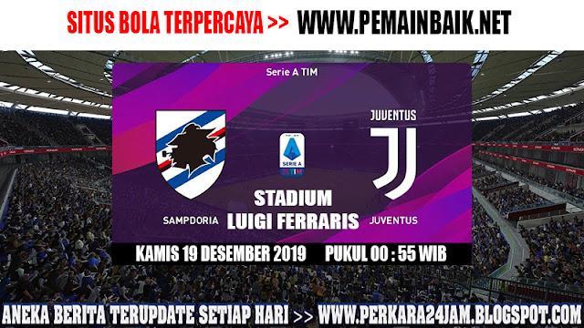 Prediksi Pertandingan Sampdoria Versus Juventus Dini Hari Nanti