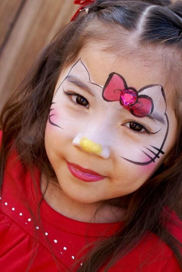 Modelos de pintura de rosto adulto
