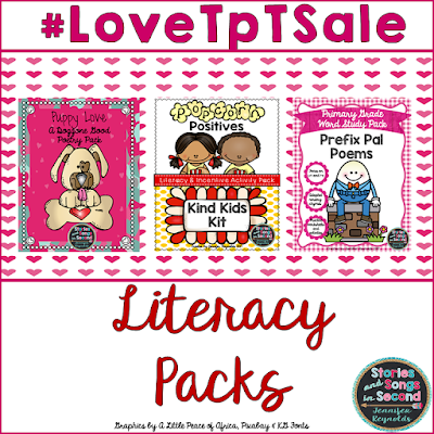 Do not miss this Feb. 14-15 Valentine sale on resources that pair perfectly with your favorite picture books!