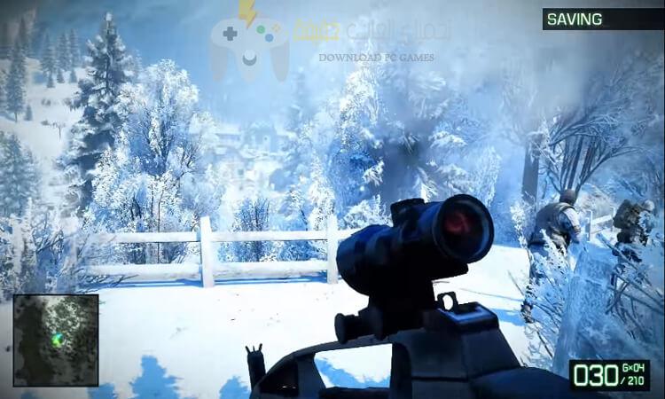 تحميل لعبة Battlefield Bad Company 2 بحجم صغير