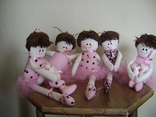 fotos+059 - Bonecas bailarinas em pano