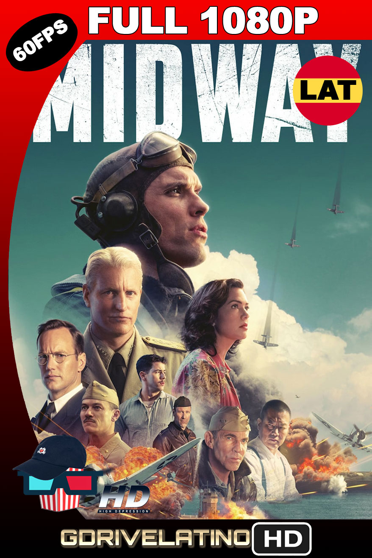 Midway: Ataque en Altamar (2019) BDRip FULL 1080p (60 FPS) Latino-Ingles MKV