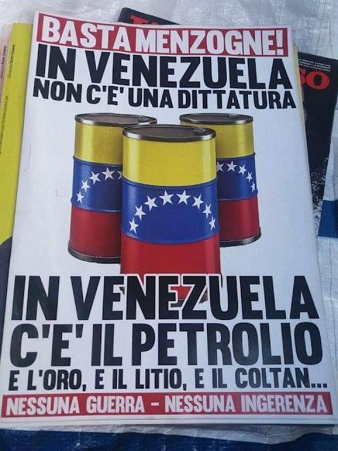 In Venezuela Embargo e Sanzioni , gli USA lo Boicottano
