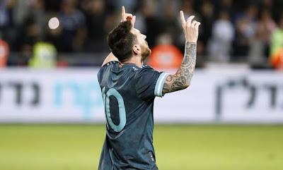 Video Cuplikan Gol: Argentina 2-2 Uruguay (International Friendly)