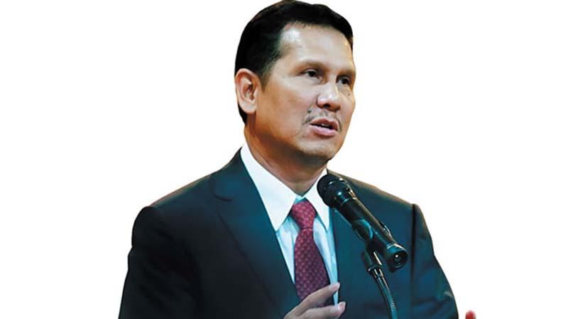 Asman Abnur Umumkan Maju Calon Ketua Umum PAN