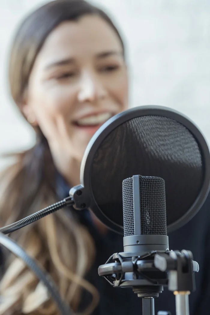 Focus on good audio and voice over