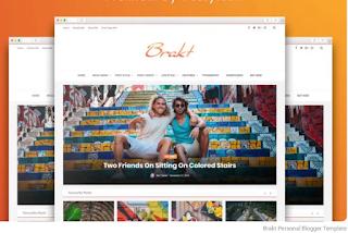Themeforest Brakt v6.0 Blogger Template Premium