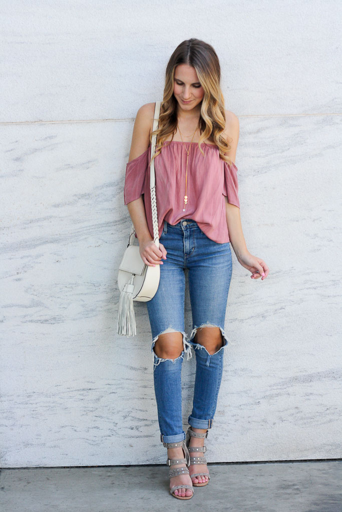 Distressed denim under $100