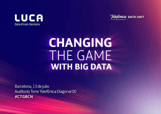 ¡Última llamada para Changing the Game with Big Data Barcelona!