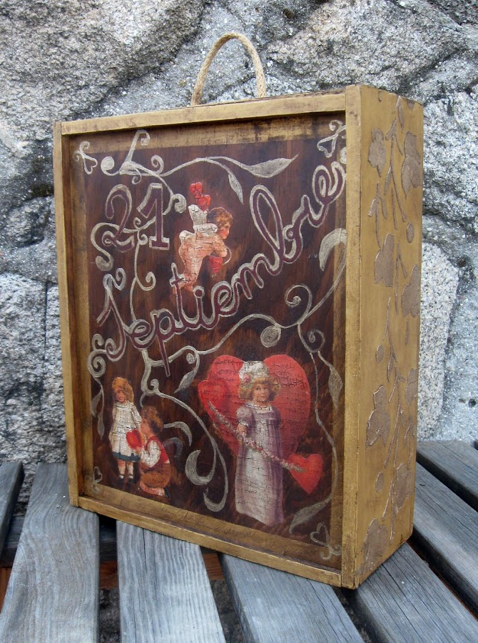 Reciclar cajas de madera manualidades - Ideas para reciclar cajas de madera ...