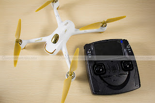 Hubsan H501S Quadcopter Top View