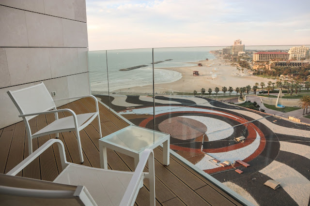Checked in: Ritz Carlton, Herzliya