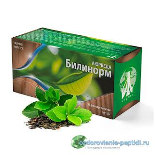 Билинорм - чай для улучшения работы печени и желчевыводящих путей