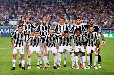 Daftar Skuad Pemain Juventus 2017-2018