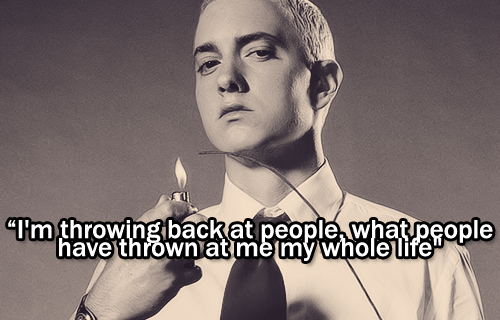 Real Slim Shady Eminem Quote - Inspirational Picture Quotes